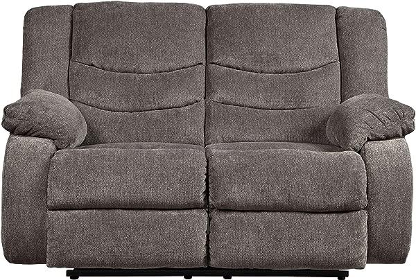 由 Ashley 设计的签名 9860686 斜倚双人沙发灰色