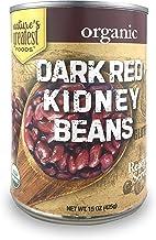 Nature's Greatest Foods, Organic Dark Red Kidney Beans, Vegan, Gluten Free, Ready to..