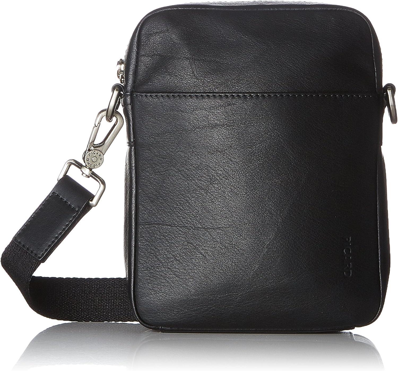 Picard Rocket, Unisex Adults' Shoulder Bag, Black (black), 4x21x16 cm (B x H T)