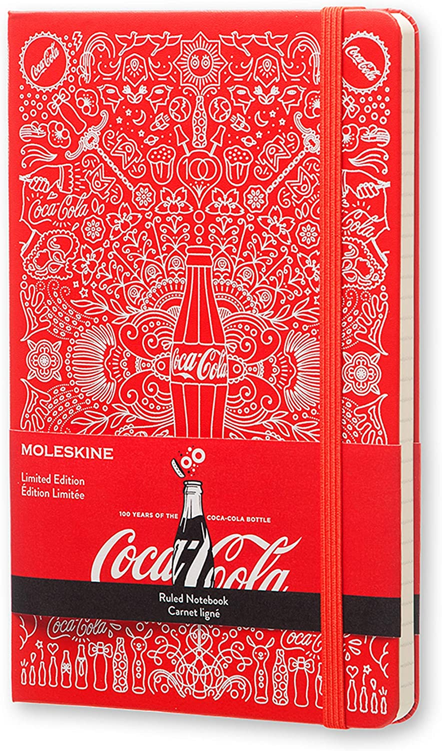 Moleskine Coke Limited Edition 2015 Notebook Large Hard Rule Super beauty product Courier shipping free shipping restock quality top Cov