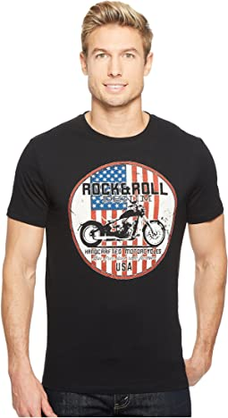 Rock and Roll Cowboy - Short Sleeve T-Shirt P9-2164