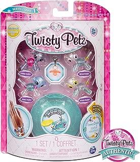 Twisty Petz - Babies 4-Pack Pandas and Puppies Collectible Bracelet Set for Kids