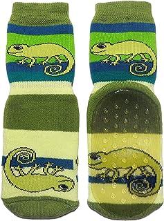 Weri Spezials - Pantofole antiscivolo in spugna ABS, colore: Verde
