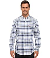 U.S. POLO ASSN. - Long Sleeve Plaid Oxford Cloth Button Down Woven Shirt