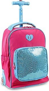حقيبة ظهر بعجلات للأطفال من جيه وورلد نيويورك