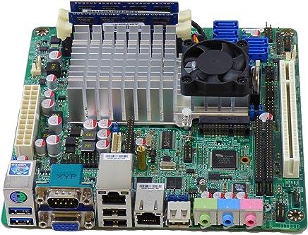 Jetway NF99FL-525 DualGigabit Lan Mini-ITX Motherboard / Intel Atom D525 1.8GHz dual-core 1MB L2 Cache, Intel ICH9R Chipset / USB 3.0, SATA2 / VGA output, Onboard LVDS header