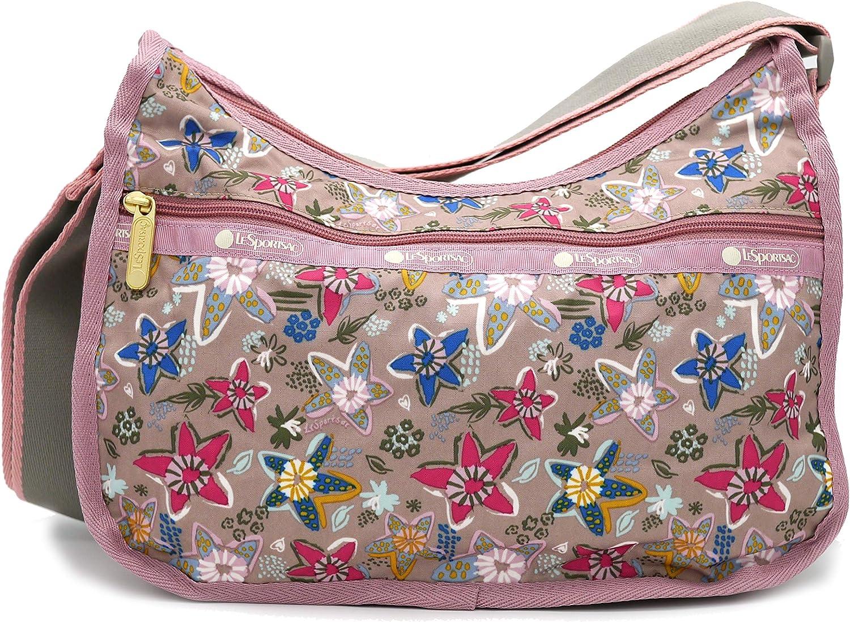 LeSportsac shop Classic Hobo Crossbody in overseas Stars Sketched Handbag