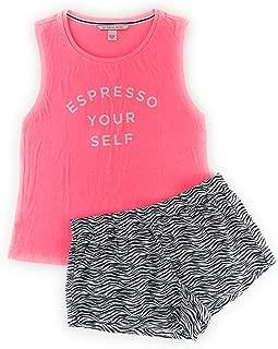 Victoria's Secret Mayfair Graphic Tank and Shorts Pajama Set