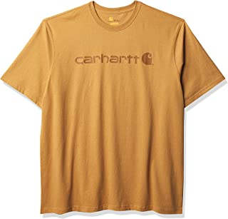 Carhartt T-Shirt Core Logo T-Shirt S//S Fired Brick Heather-XL