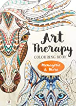 Art Therapy Adult Colouring Book: Menagerie And More (128pp)