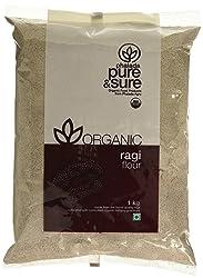 Pure & Sure Organic Ragi Flour, 1kg