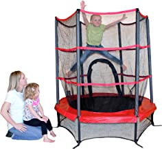 Propel Trampolines PTS55-RE Junior Trampoline with Enclosure, 55