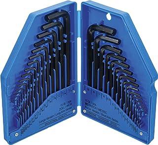 Kraftmann 810 | vinkelnyckelsats | tummått/metrisk | innersexkant | 30 delar.