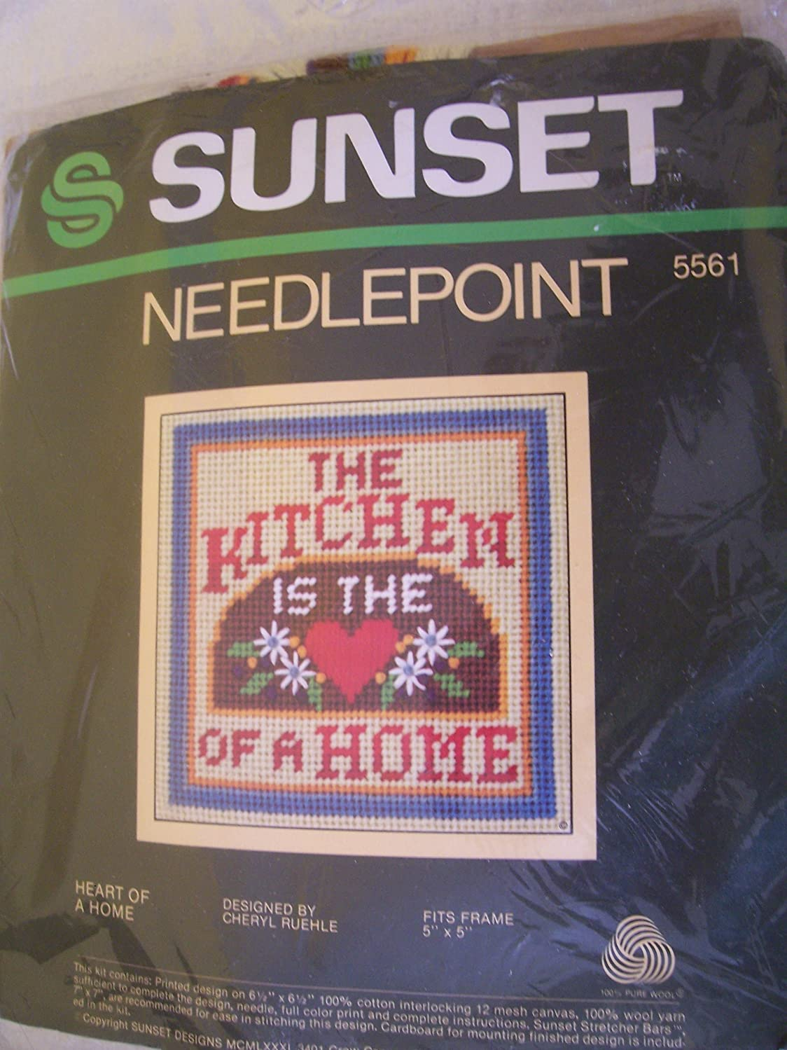 Heart of a Home Needlepoint Kit