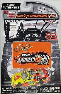 NASCAR Authentics Dale Earnhardt Jr. #88 Diecast Car 1/64 Scale - 2017 Wave 88 - Dale Earnhardt Jr. 2017 Axalta Last Ride with Appreci88ion Homestead Magnet - Collectible