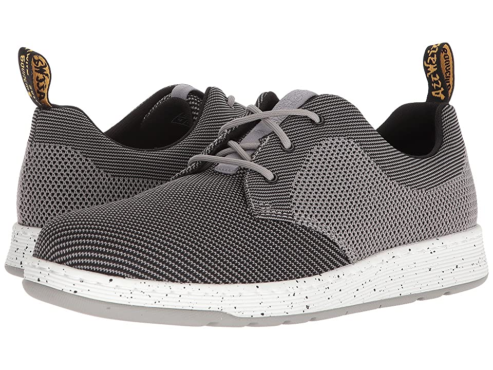 Dr. Martens Cavendish Knit (Mid Grey/Black Knit) Lace up casual Shoes