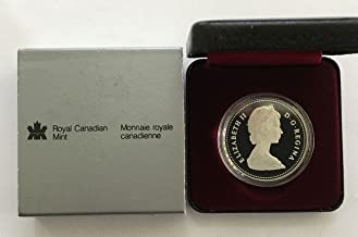 CA 1984 Canadian 150th Anniversary of Toronto Silver Dollar in Original Packaging Proof
