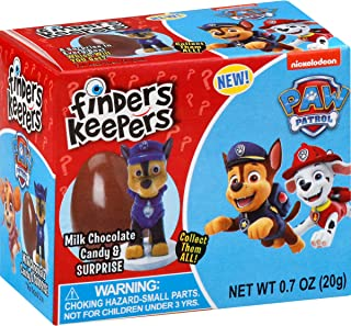 Finders Keepers Paw Patrol Milk Chocolate Egg & Toy Surprise, 0.7 Oz (Pack Of 6)