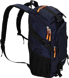 Betz Mochila de excursión Sports 1 con bandoleras Anchas Ajustables y 3 Compartimentos con Cremallera Color Azul Oscuro
