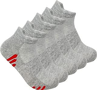 Thin Ankle Socks Bamboo Anti odor Athletic Performance Sock Breathable mesh Sock Odor Resistant soft Low Cut Sock 5 Pair