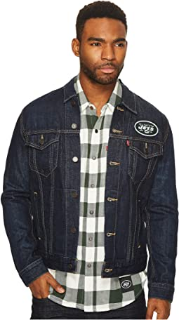 NY Jets Sports Denim Trucker