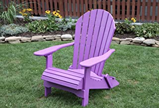 Surprising Amazon Com Purple Adirondack Chairs Chairs Patio Lawn Unemploymentrelief Wooden Chair Designs For Living Room Unemploymentrelieforg
