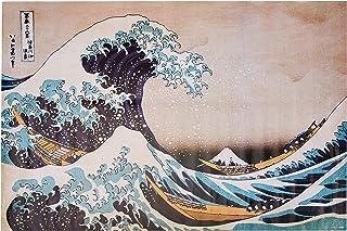 Poster La Grande Vague de Kanagawa - 91x61cm