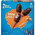 Blue Bunny Mini Swirls Caramel Ice Cream Cone, 8 ct (frozen)