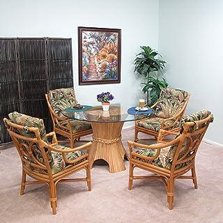 Kingrattan Rattan Furniture 5 Piece Dining Set 2609H BC