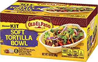 Old El Paso Taco Boats Dinner Kit, Soft Tortilla, 10.9 oz Box