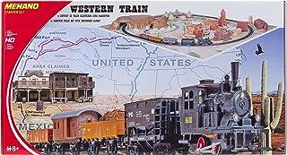 "Mehano T109 gods med layout – elektrisk tåg, spår H0, med ""Western Passage"" i plast"