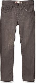 Levi's Boys' 512 Slim Taper Fit Jeans, Black Light