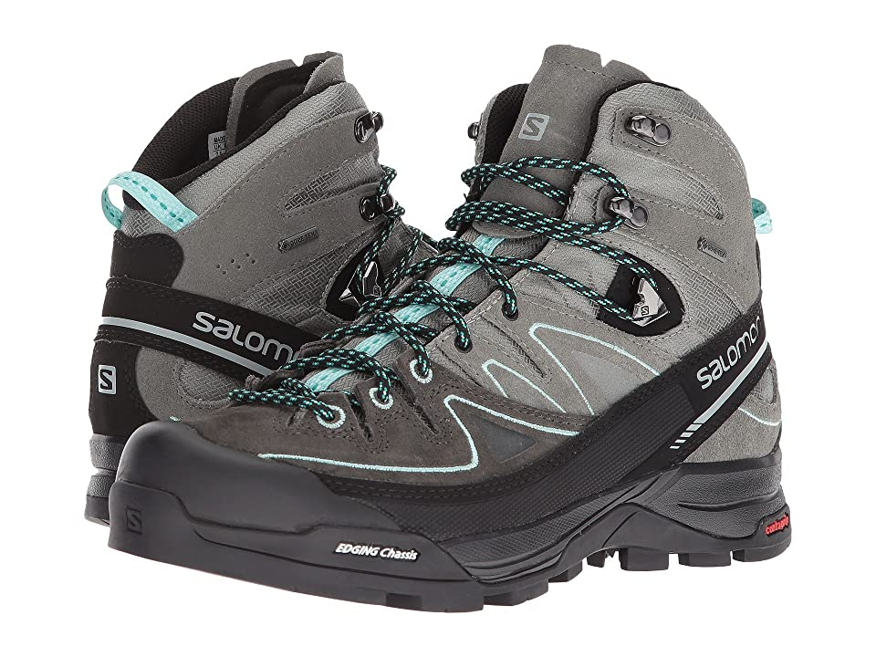 Salomon X Alp Mid LTR GTX (Shadow/Castor Gray/Aruba Blue) Women