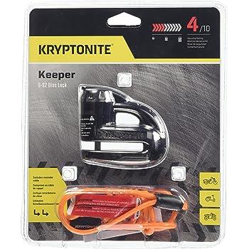 Kryptonite 720018000877 Keeper 5-S2 - Cerradura de Disco cromada, Negro, Una Talla