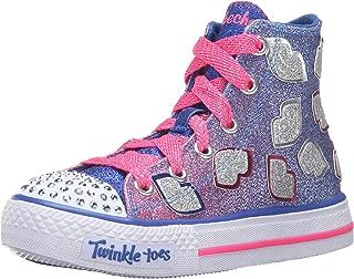 Skechers Kids' Shuffles-Lil' Smooches Sneaker