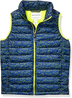 Boy's Lightweight Water-Resistant Packable Puffer Vest