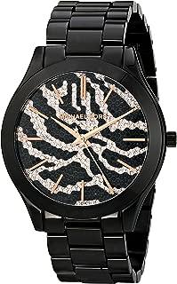 Michael Kors Slim Runway Rose Gold Dial Stainless Steel Ladies Watch MK3316