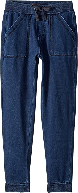 7 For All Mankind Kids - Jogger Jeans in Indigo (Big Kids)