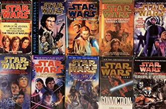 Star Wars Sequel and Prequel 10 Novel Collection