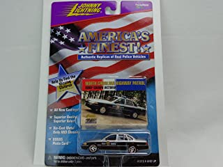 Johnny Lightning America's Finest North Carolina Highway Patrol Ford Crown Victoria 1:64 Scale