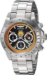 Invicta Character Collection 24889 Reloj de cuarzo para hombre con correa de acero inoxidable, plateado, 20 (modelo: 24889)