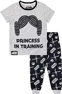 Star Wars Pijamas de Manga Corta para niñas La Guerra de Las Galaxias