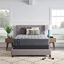 Sealy Posturepedic Plus, Tight Top 13 Plush Soft Mattress with AllergenProtect and 5-Inch Foundation, Queen, Grey