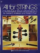All For Strings Comprehensive String Method Bk. 2 Viola