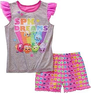 45642bf6cd75 Amazon.com  Shopkins - Pajama Sets   Sleepwear   Robes  Clothing ...