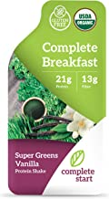 Greens Powder Superfood   Meal Replacement Shake   Gluten Free Weight Loss, Greens Supplement   USDA Organic, Dairy Free, Non-GMO, Vegan, Plant-Based Whole Foods