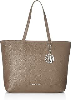 A|X Armani Exchange womens Zip Top Shoulder Bag