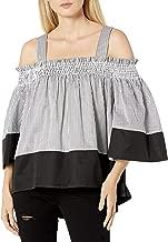 Kendall + Kylie Women's Off-Shoulder Smocked Top