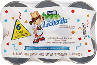 La Lecherita Lowfat Sweetened Condensed Milk, 6 ct, 21 oz
