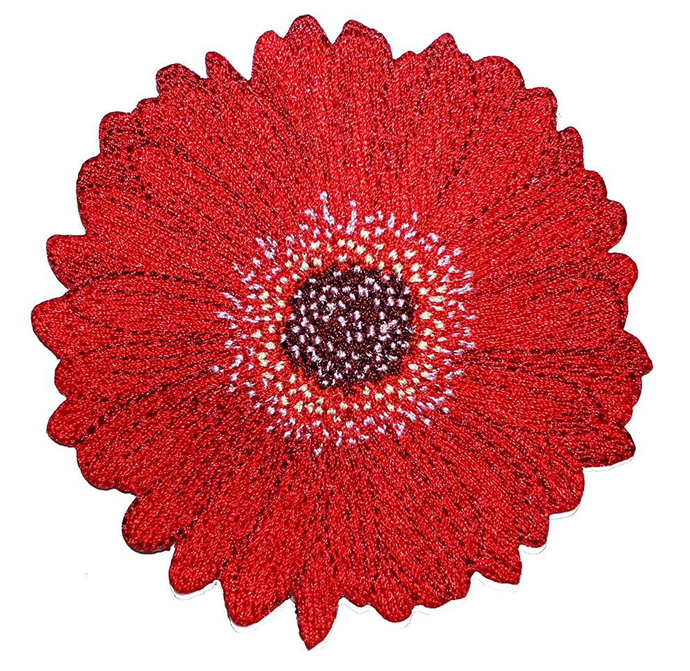 Application Daisy Patch, Red